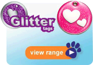 Find the right Glitter Tags for your pet