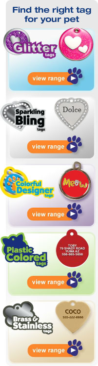 Find the right tag for your pet